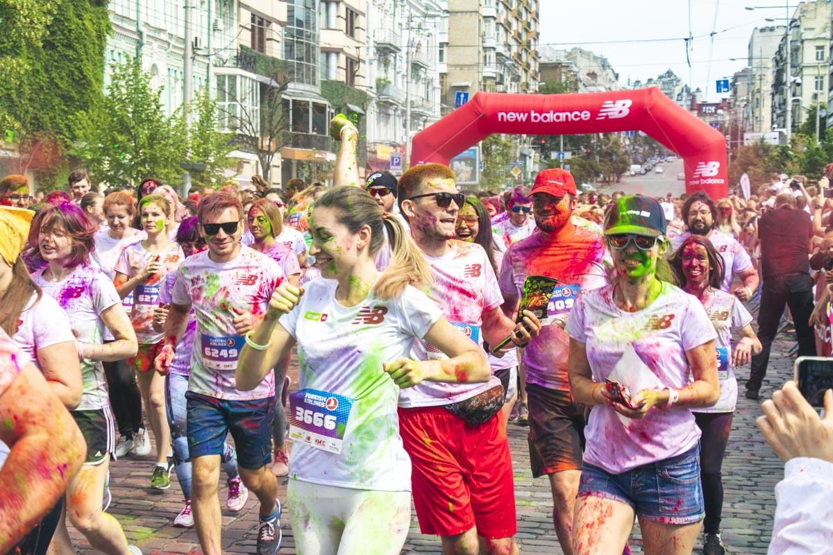 Победителей в мини-марафончике не было, в любом случае побеждала дружба