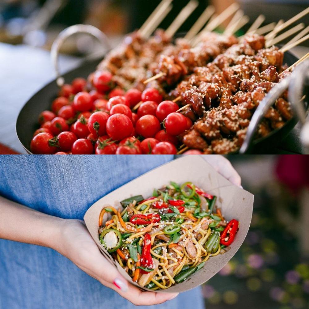 Уличная еда как всегда будет радовать ваши животики и вкусовые рецепторы