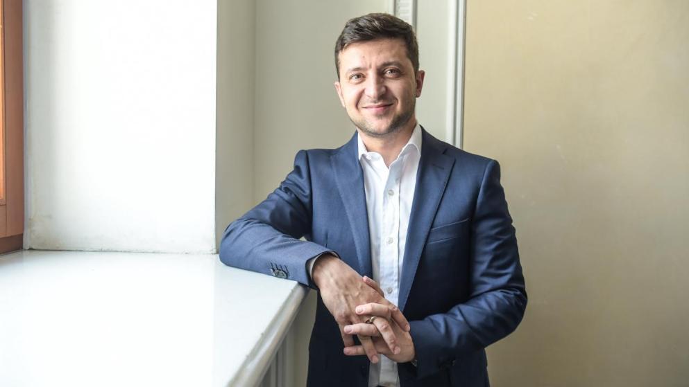 Владимир Зеленский дал интервью газете Bild