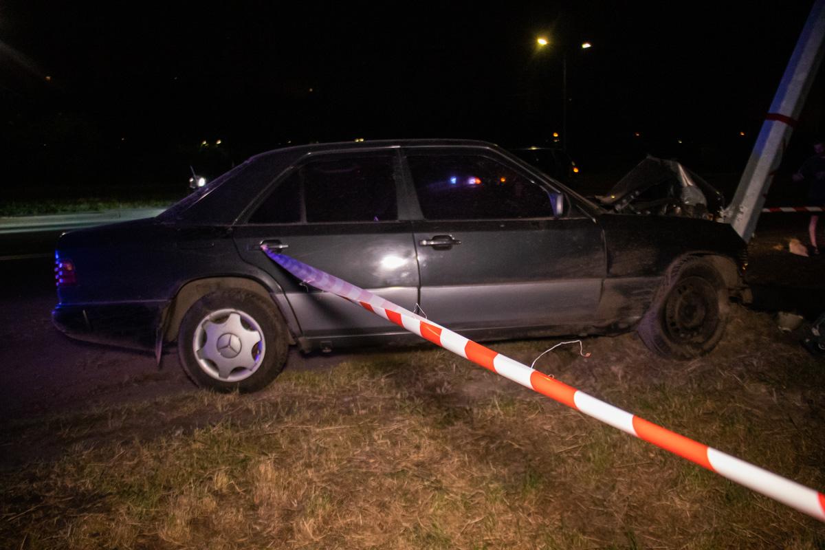 К счастью, водитель не пострадал и отделался лишь испугом