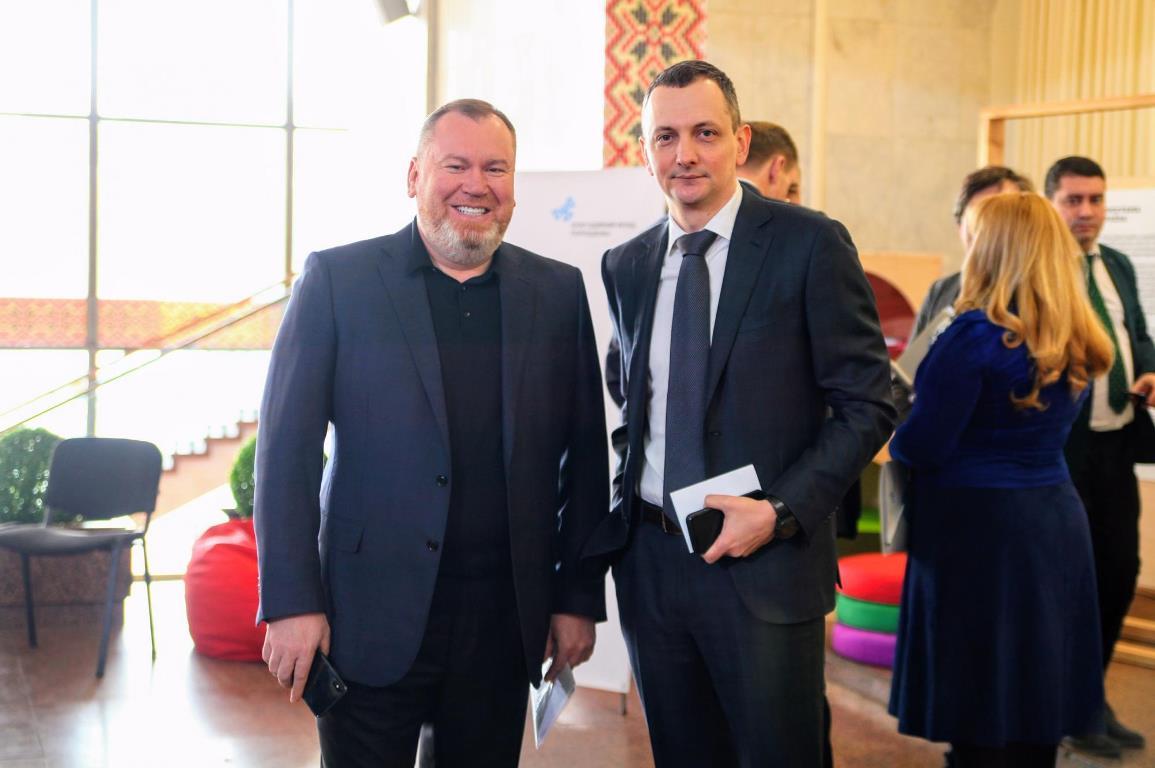 Валентин Резниченко и Юрий Голик