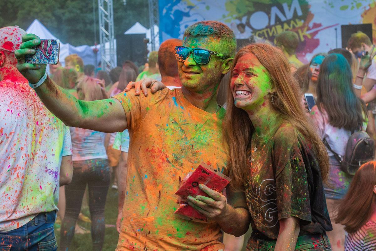 В Киеве прошло самое красочное событие лета