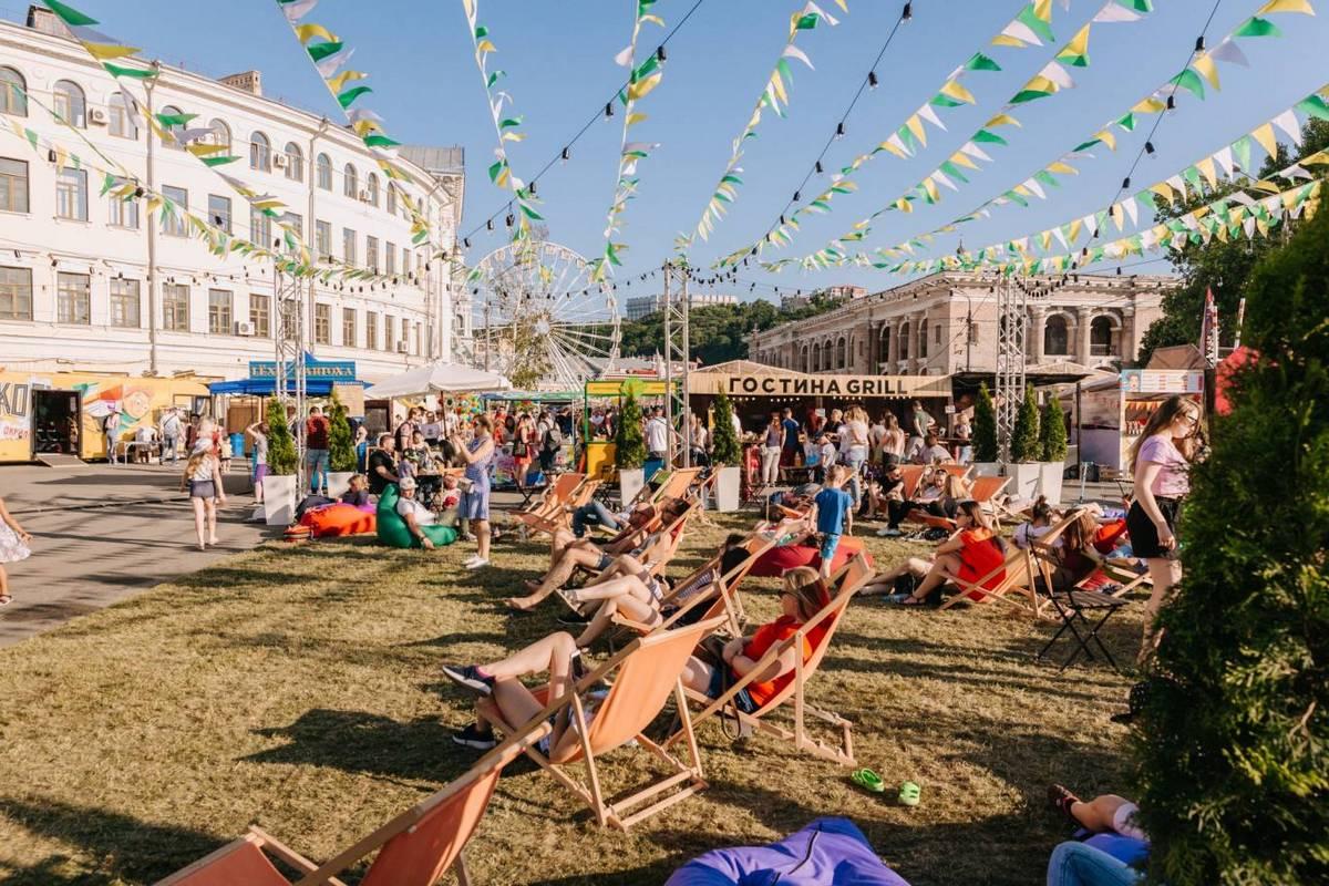 Окунитесь в атмосферу настоящего летнего лагеря на фестивале Made in Ukraine. Summer camp