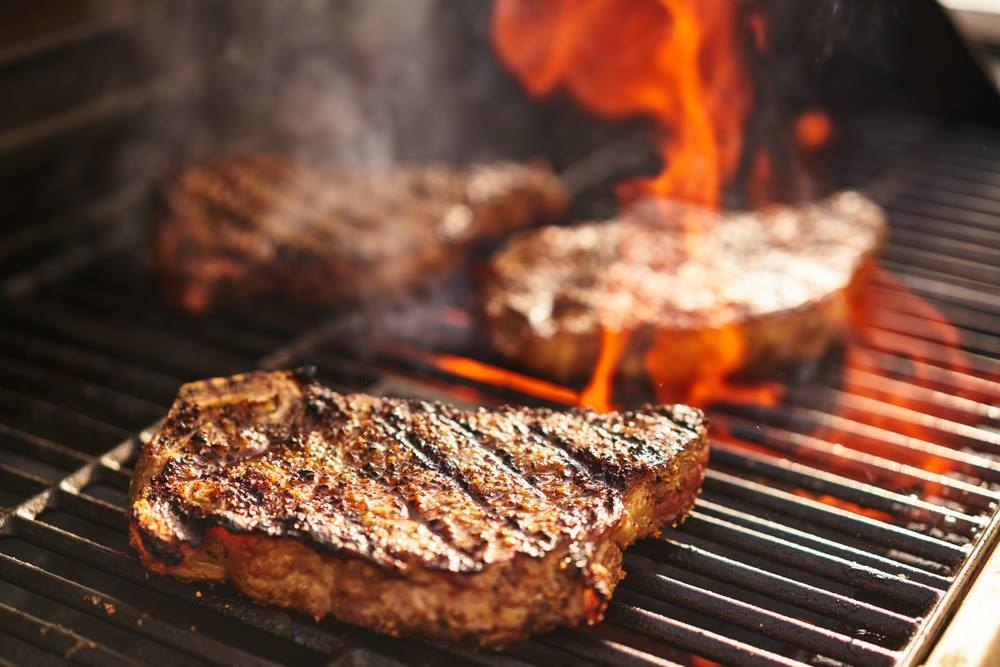 Сочные стайки и маринованное мясо на берегу Днепра