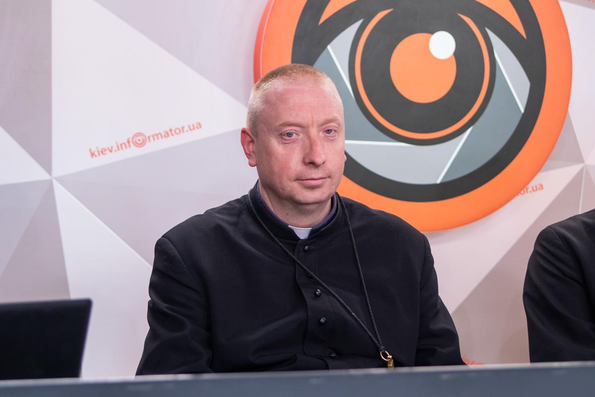 Андрей Рак - настоятель костела святого Николая