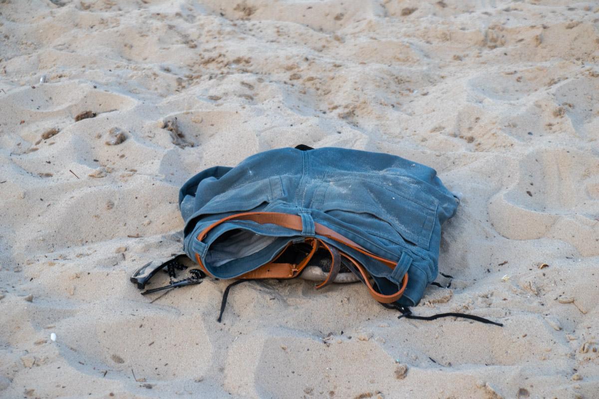 Тело находилось на глубине 7 метров за 30 метров от пляжа
