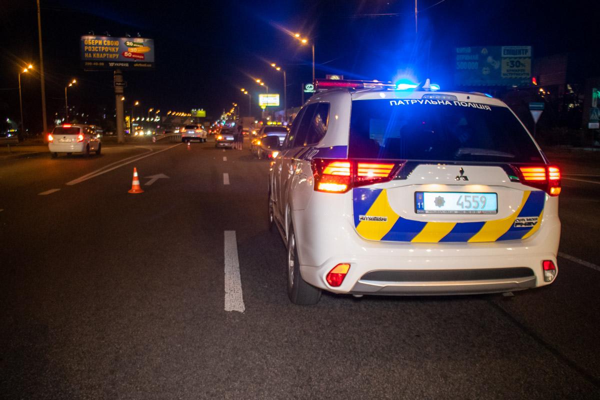 Полиция устанавливает детали ДТП