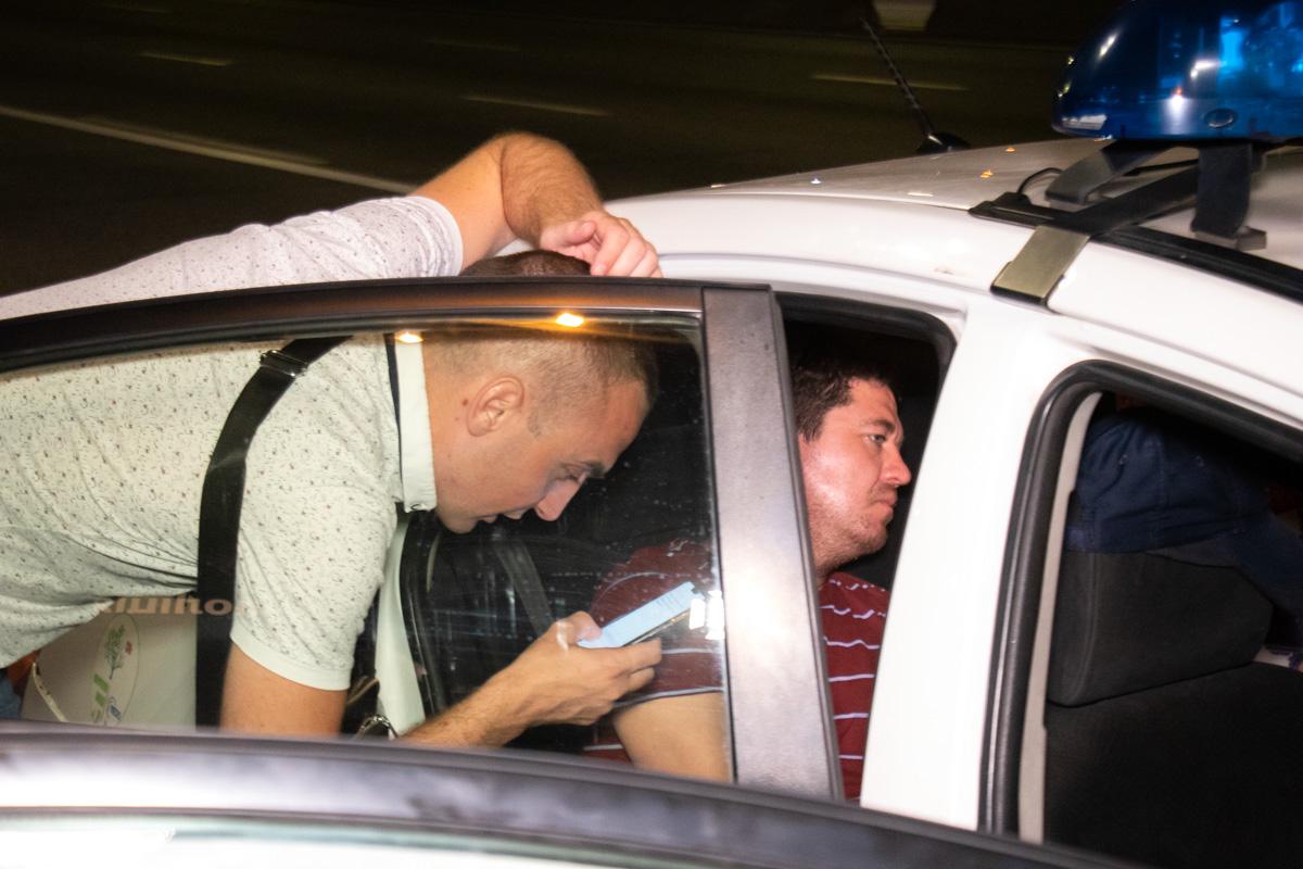 Водитель имел признаки наркотического опьянения
