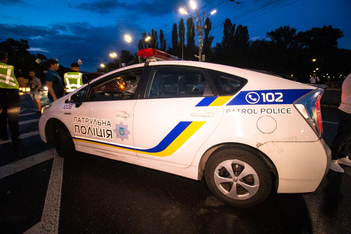 Обстоятельства аварии устанавливает полиция