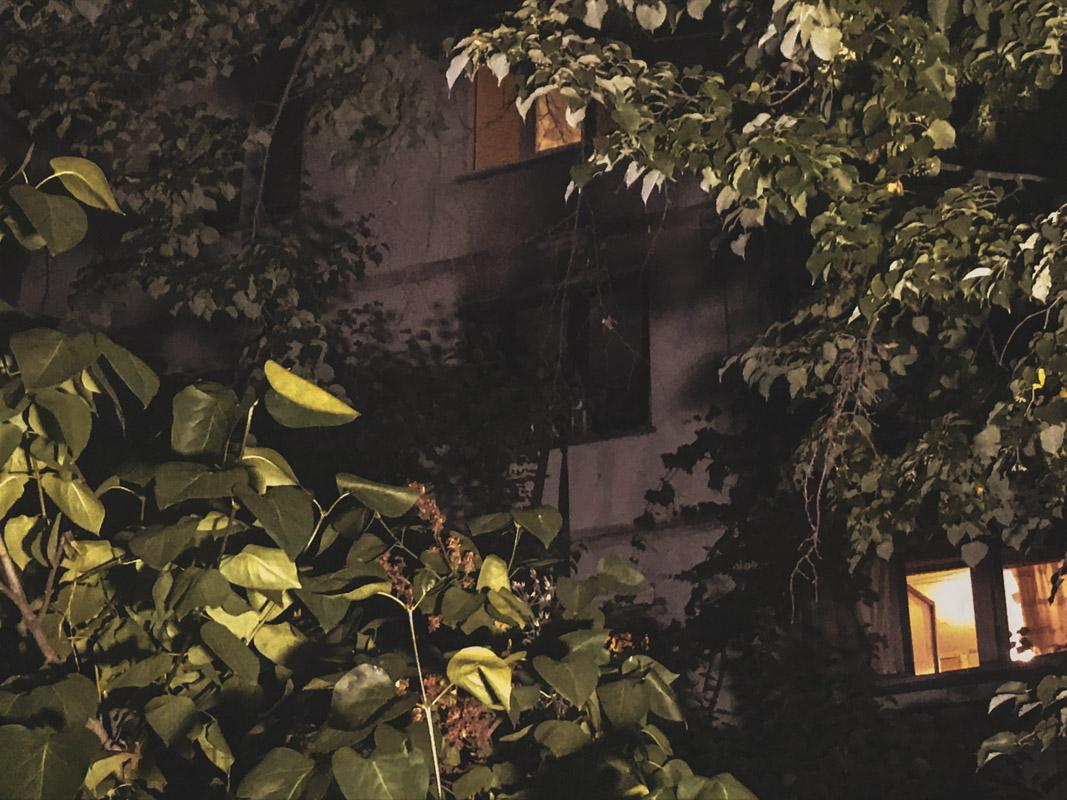 В ночь на 17 июня в Киеве по адресу проспект Лесной, 41 произошел пожар
