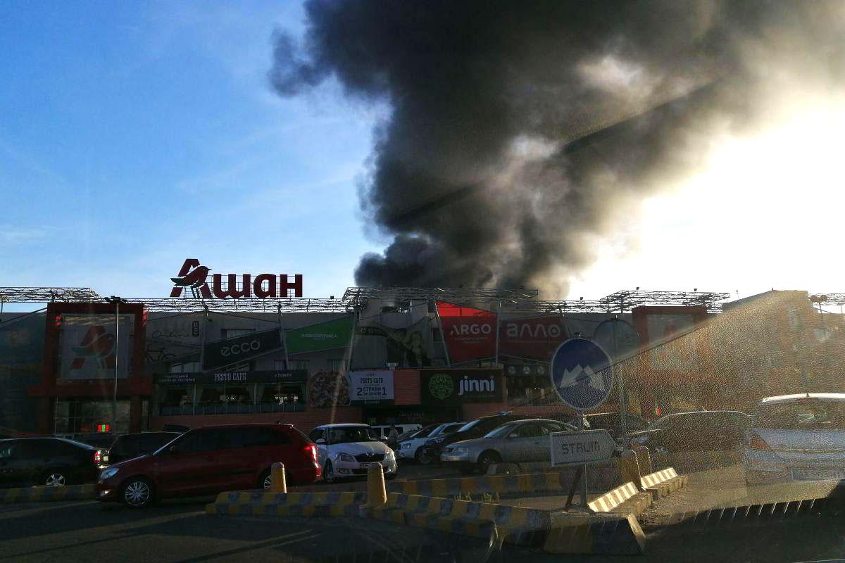 В среду, 26 июня, в Киеве на Петропавловской Борщагорке произошел масштабный пожар