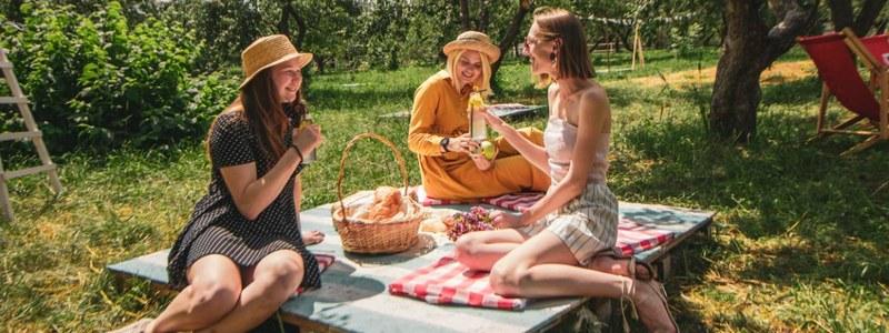 Пикник в Саду