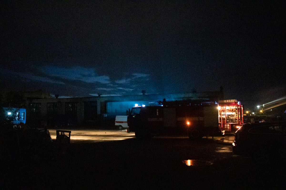 Пожарно-спасательные службы полностью ликвидировали огонь в 03:22