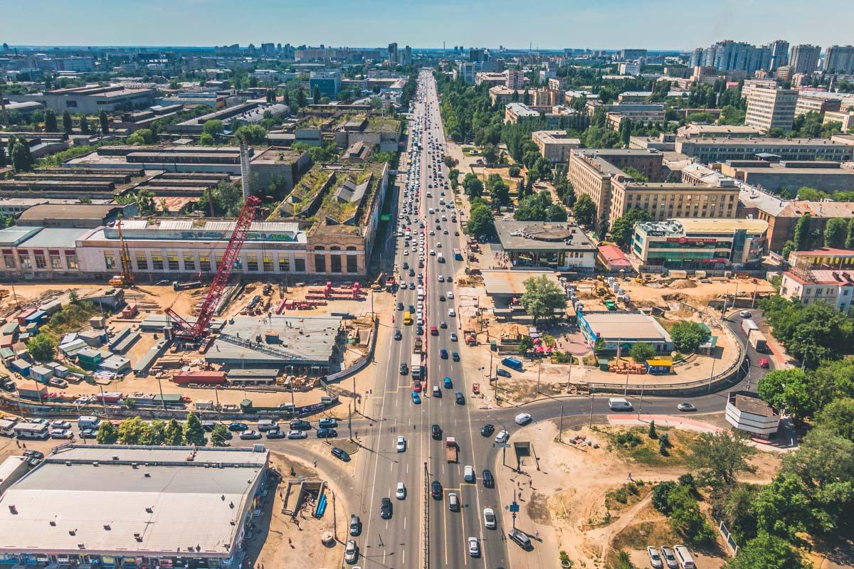 Вот такой он - новый Шулявский мост!