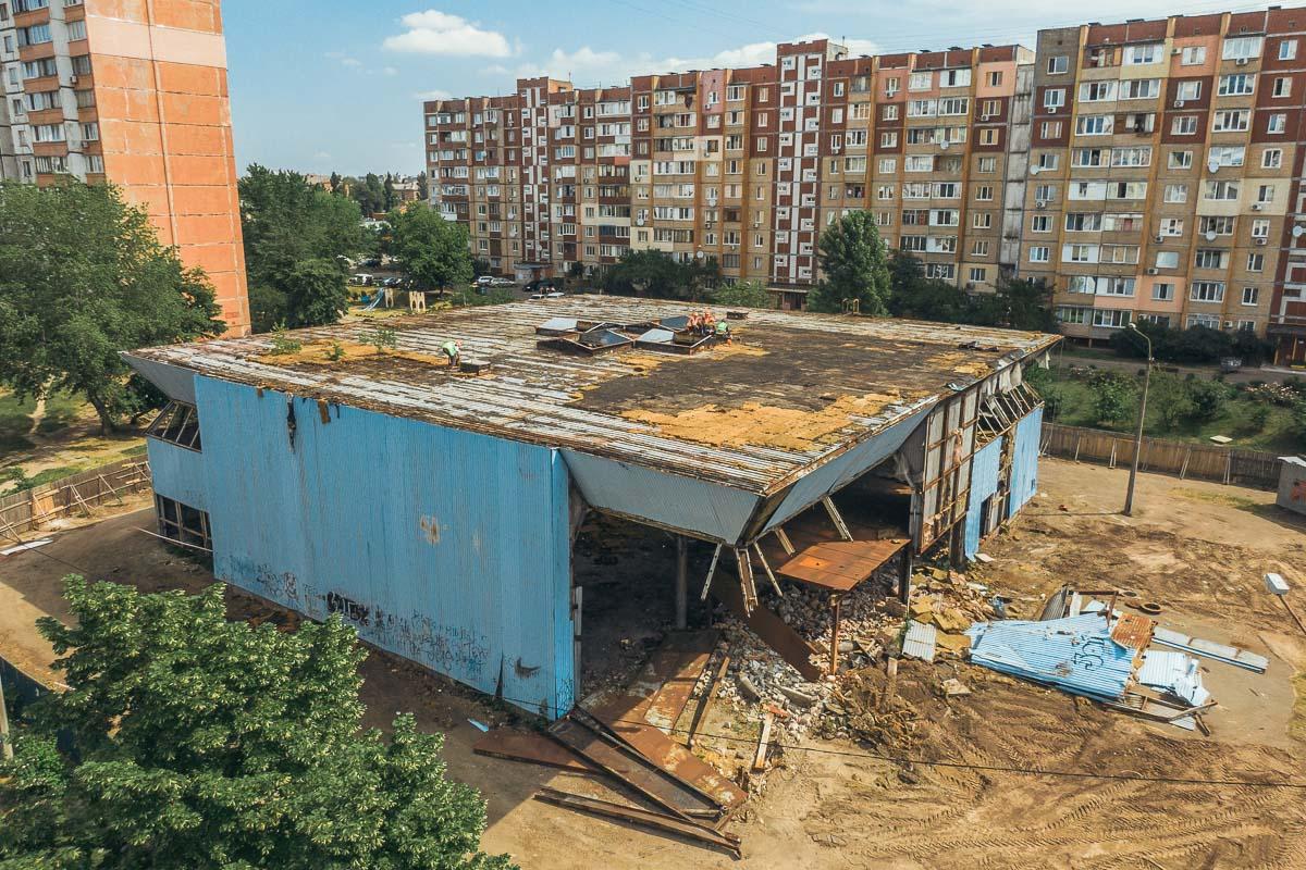 В Днепровском районе столицы появится современный спортивный комплекс
