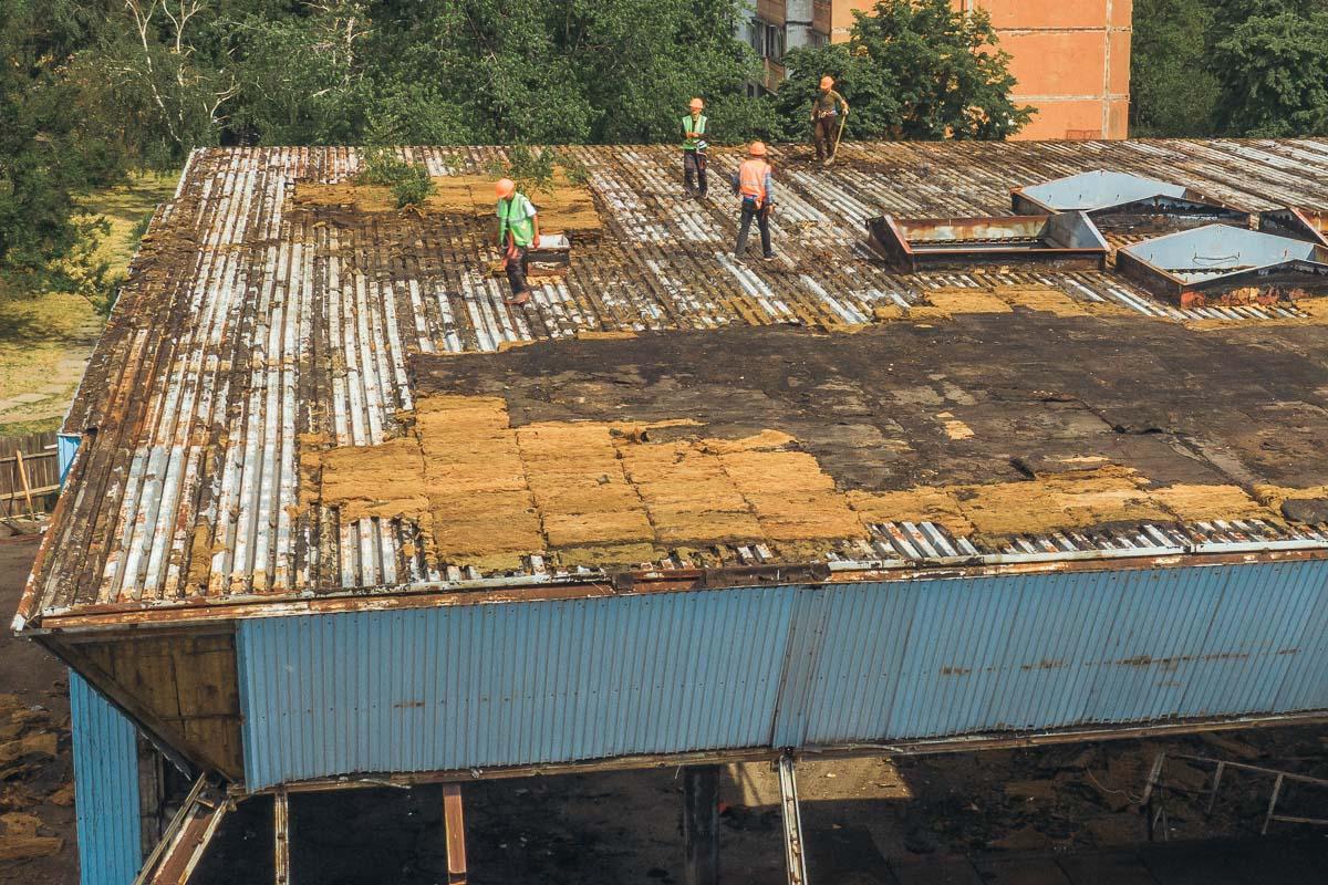 Работы по реконструкции уже имеющегося здания начались