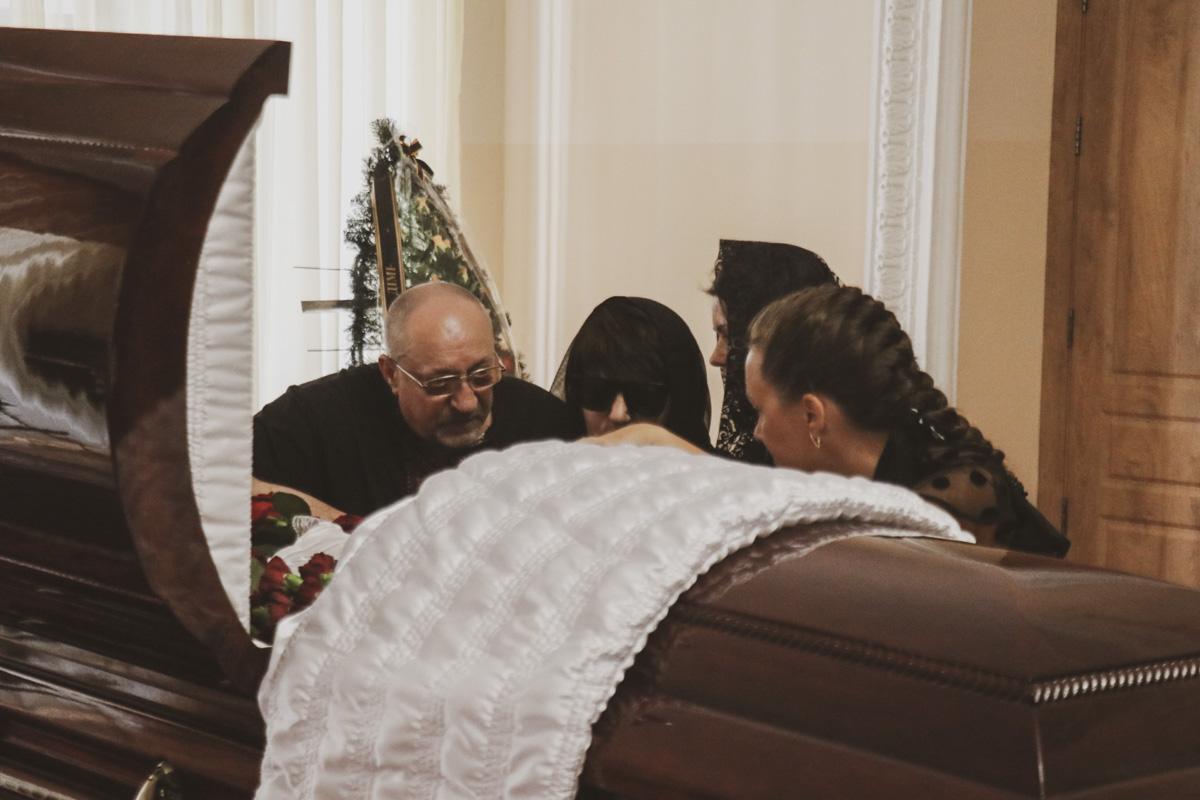 Семья погибшего депутата