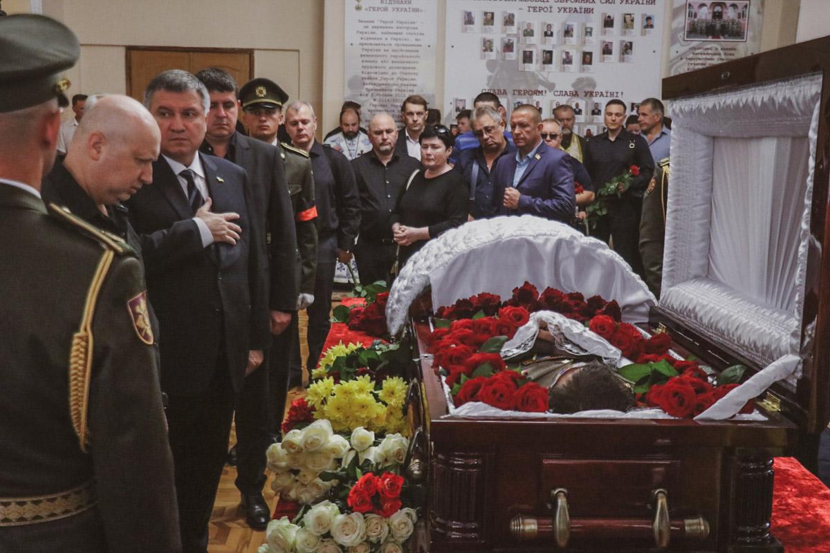 Глава МВД Арсен Аваков и экс-секретарь СНБО Александр Турчинов