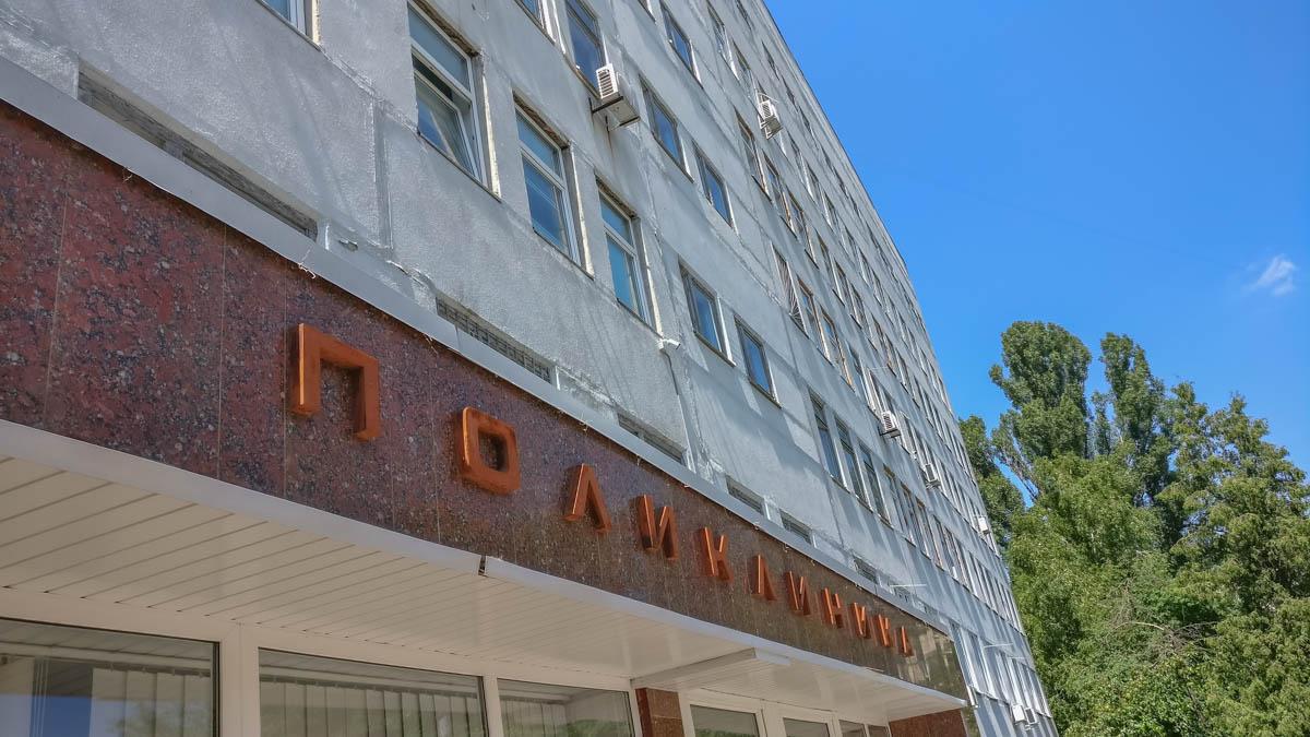 В Консультативно-диагностическом центре Соломенского района умерла пожилая женщина