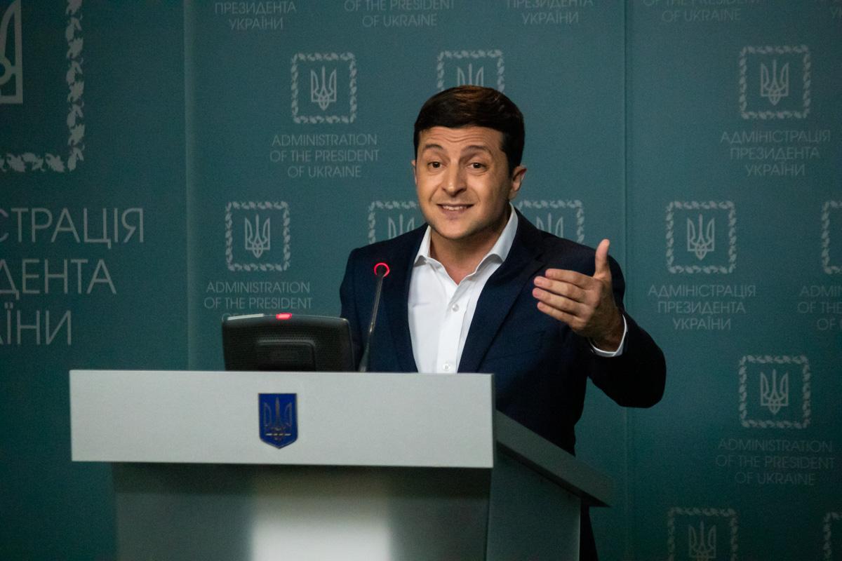 В четверг, 27 июня, в Киеве прошел экстренный брифинг Владимира Зеленского