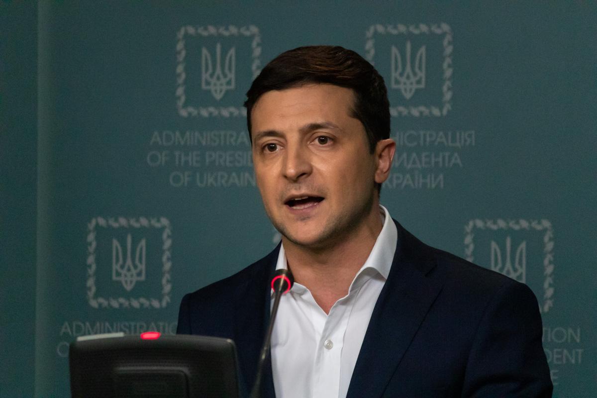 Встреча состоялась в пресс-центре Офиса Президента