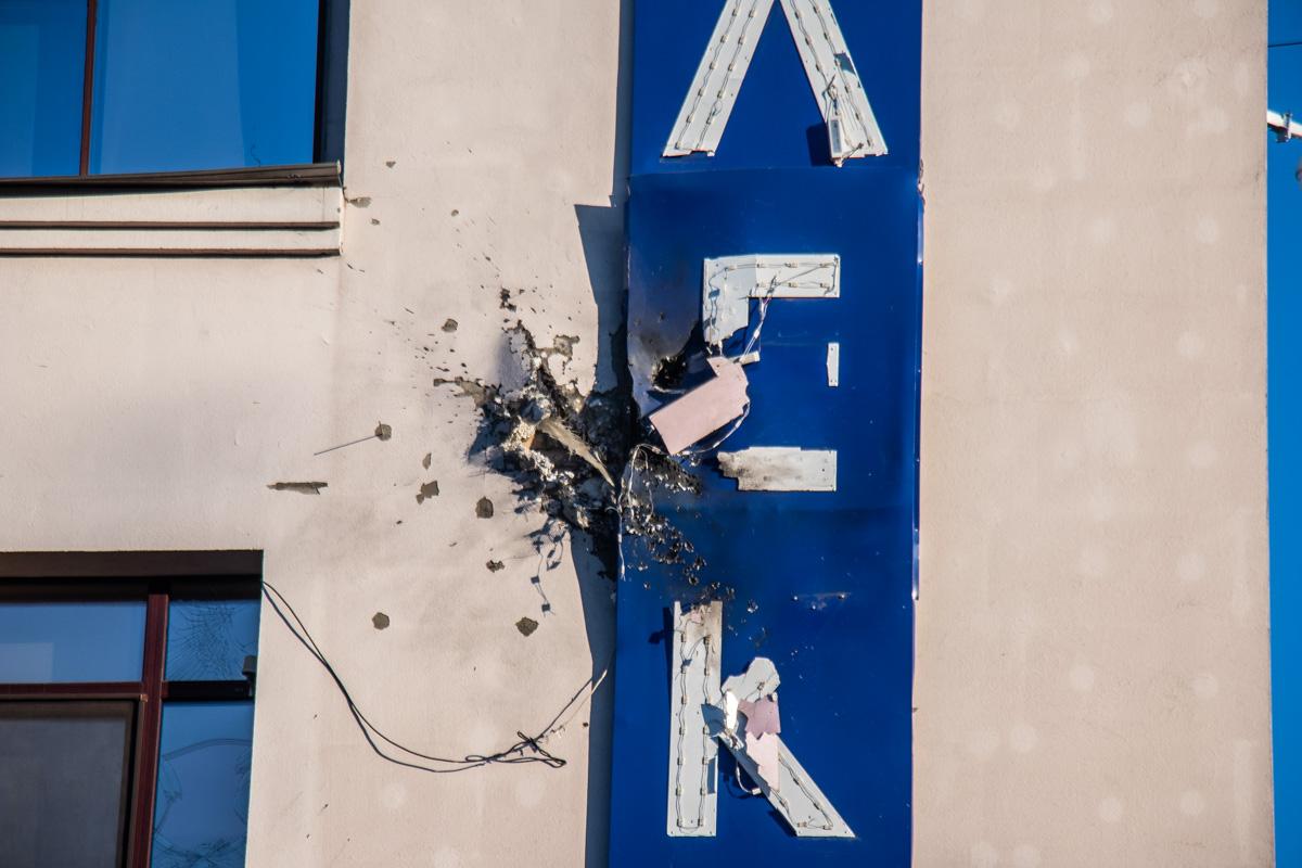 """В Киеве неизвестные обстреляли здание """"112 канала"""""""