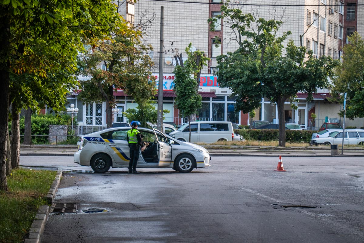 Зоологическую улицу перекрыли для проезда транспорта