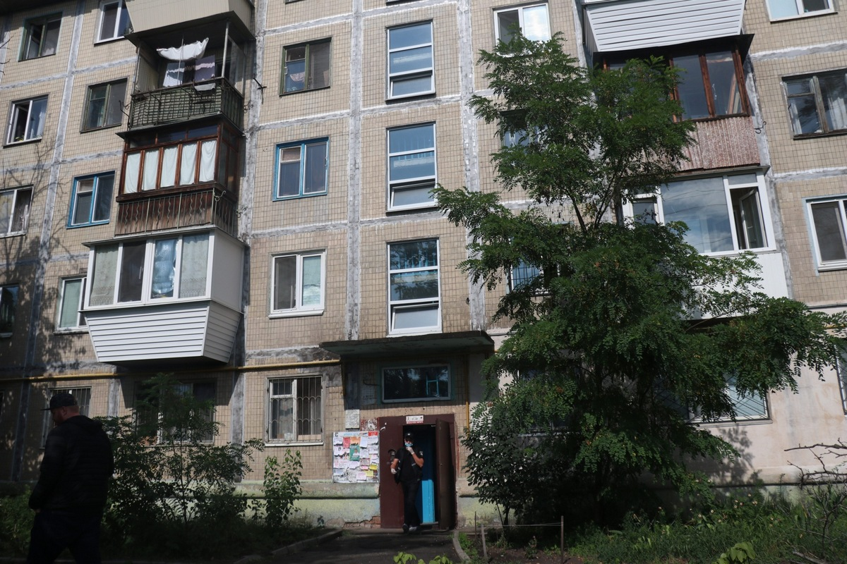 На улице Каунасской мужчина убил бывшую жену