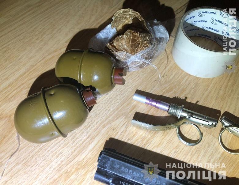 Работники полиции изъяли около 40 патронов и два корпуса гранаты РГД-5