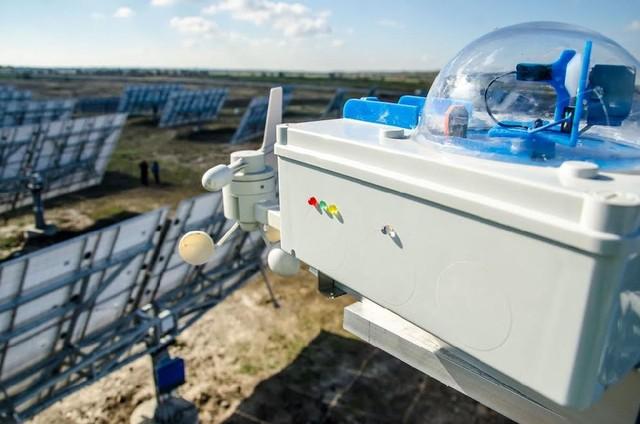 В Подгородном работает уникальная солнечная станция с трекерной системой