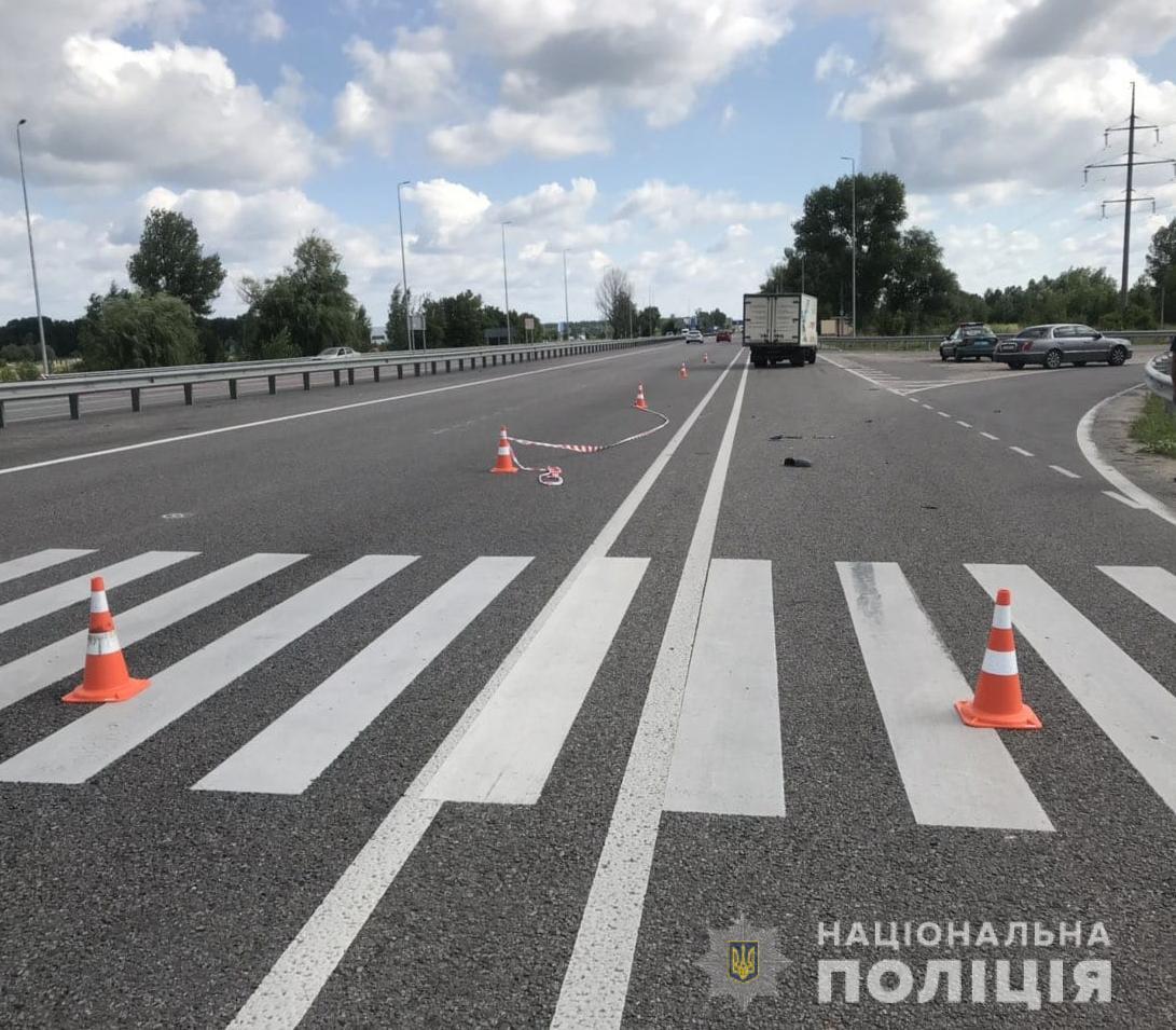 Под Киевом за сутки на одном и том же переходе сбили двоих женщин