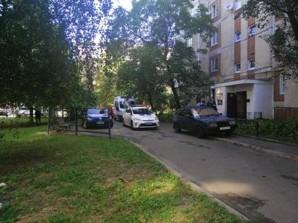 В Киеве женщина нашла свою подругу на балконе в крови