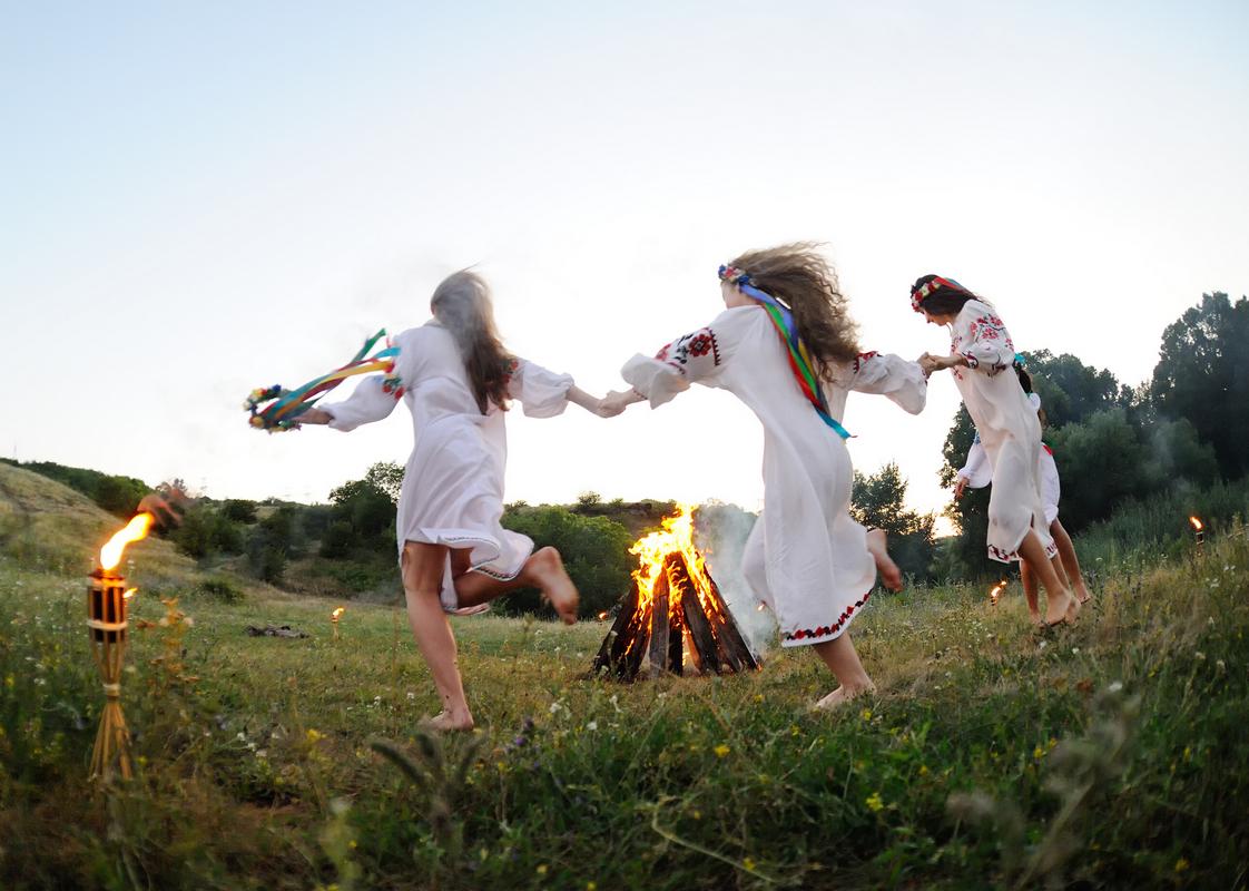 Парк «Киевская Русь» в селе Копачов традиционно предлагает встретить древний языческий праздник с размахом