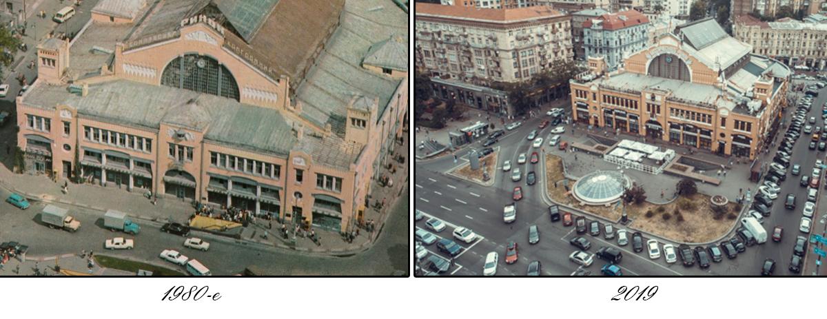 На дворе 1980-е годы, а мы поднимаемся на высоту птичьего полета, чтобы оценить архитектуру крыши