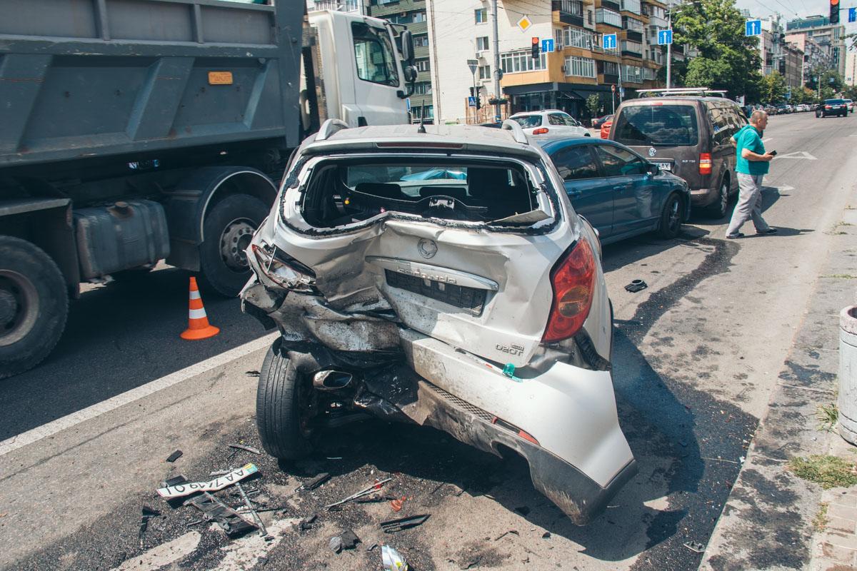Причиной аварии стал приступ эпилепсии у водителя Volkswagen