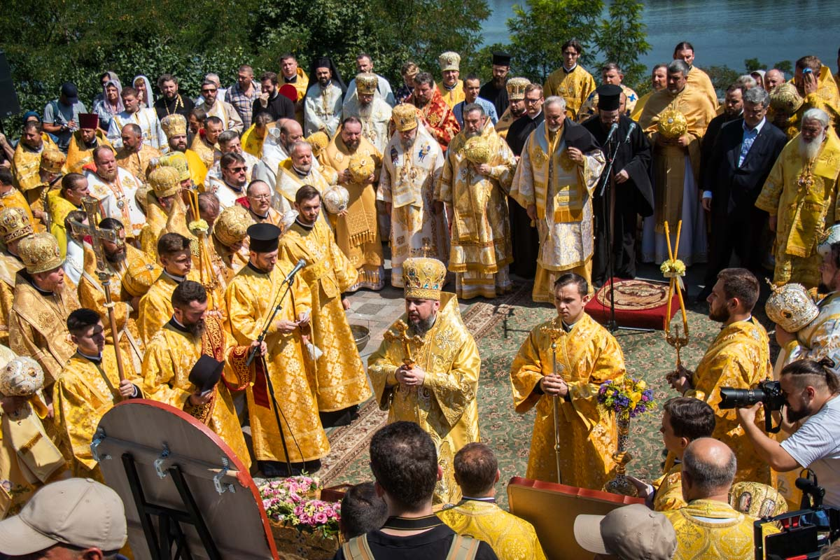 Вселенский патриарх Варфоломей благословил передачу ПЦУ мощей апостола Андрея Первозванного