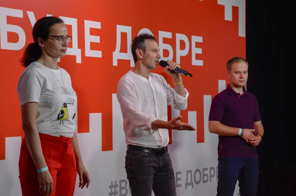 """Вакарчук долго благодарил всех причастных к созданию """"Голоса"""" и заявил, что его партия готова быть частью новой коалиции"""
