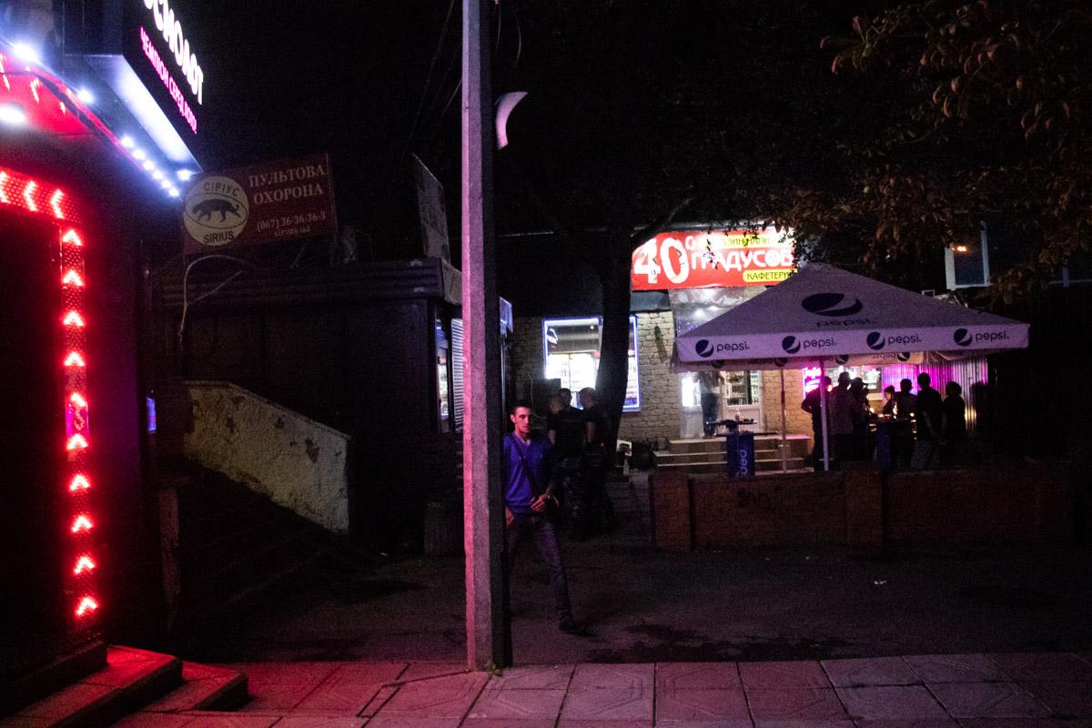 В Соломенском районе Киева неадекват напал на кафетерий