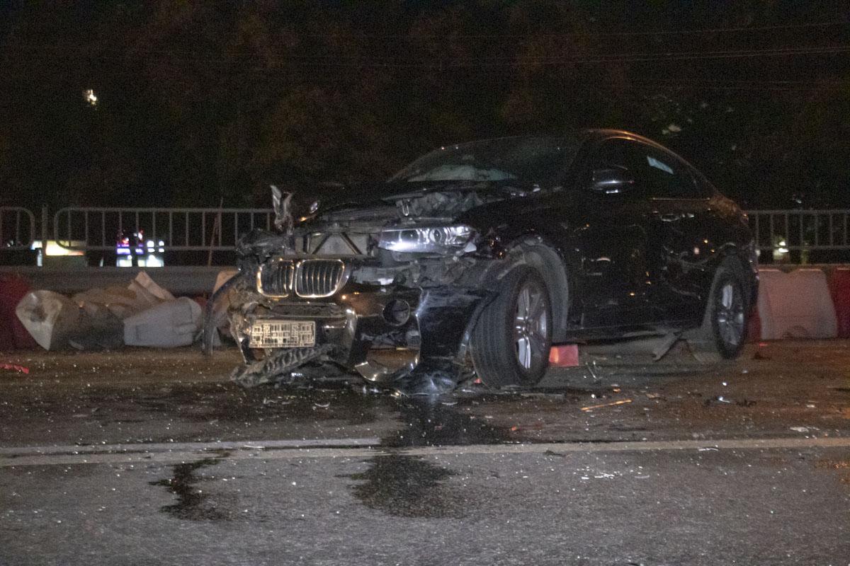 Предварительно, водитель BMW не пострадал