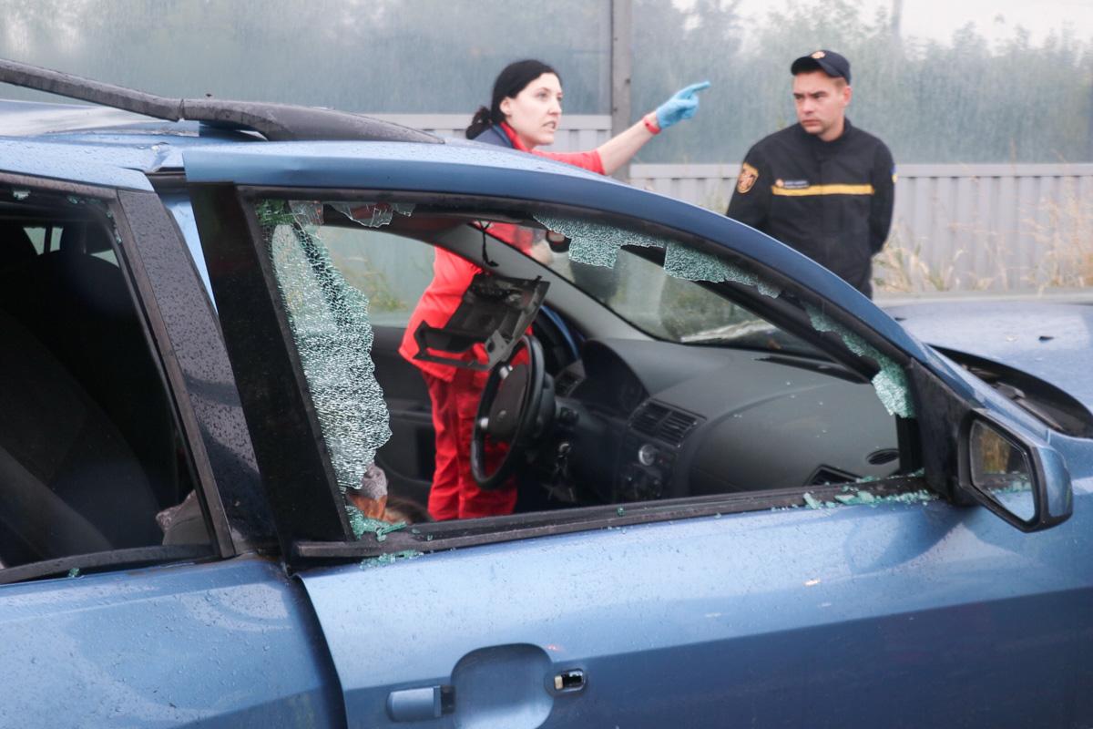 Детали и виновника аварии установит следствие