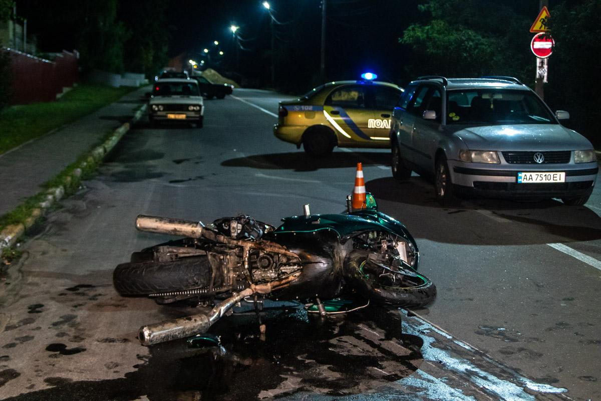 В ночь на 31 июля под Киевом в городе Ирпень произошло смертельное ДТП