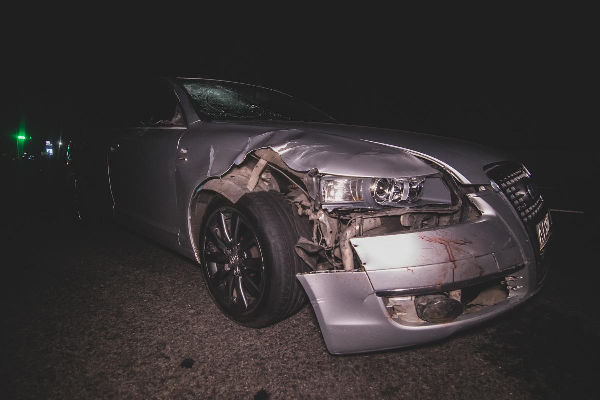 Возле села Вита-Почтовая под Киевом Audi насмерть сбил троих человек