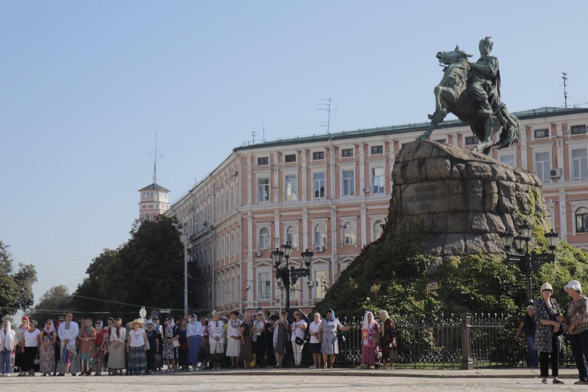 28 июля в столице Украины начался первый в истории православной украинской церкви крестный ход