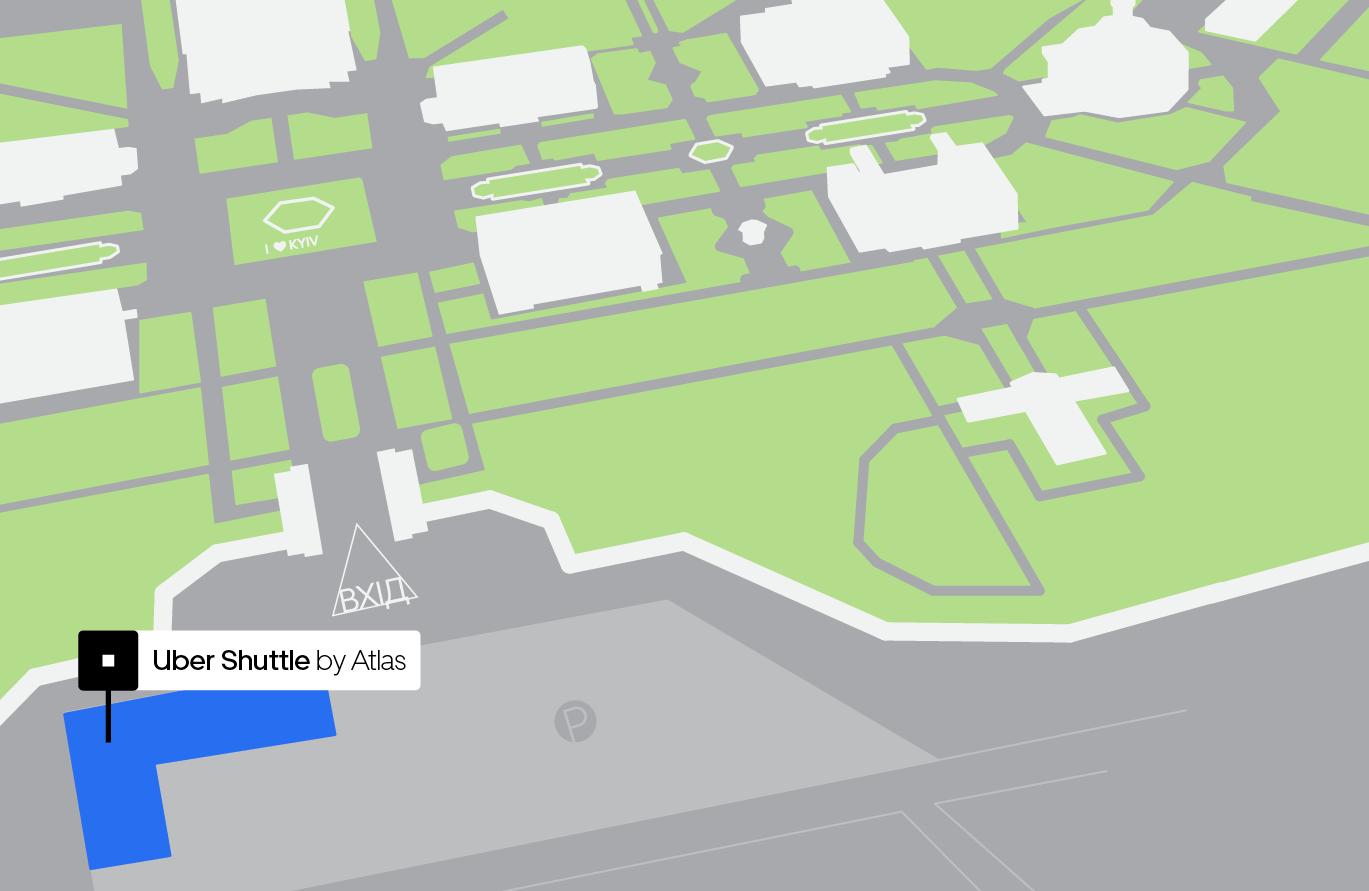 Зона посадки будет размещаться слева от входа на ВДНГ