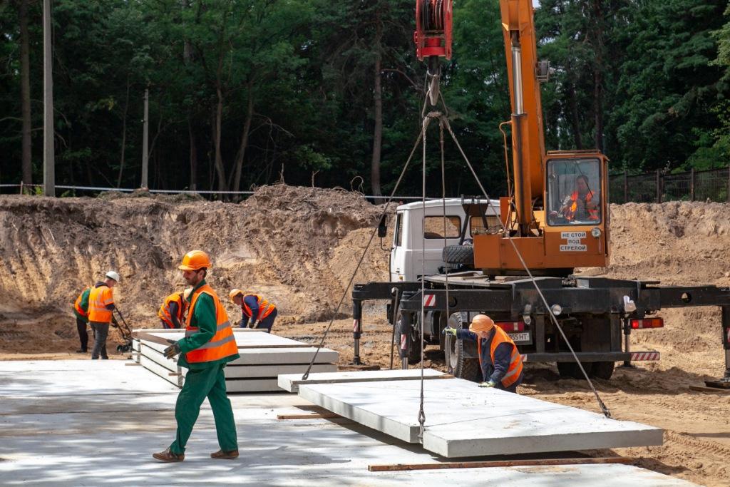 Часть работ по прорытию тоннелей будет вестись под землей, часть - открытым способом
