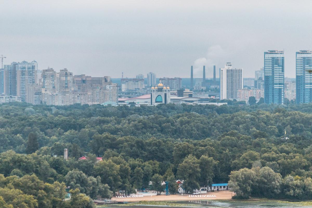 Красотой Киева можно наслаждаться при любой погоде