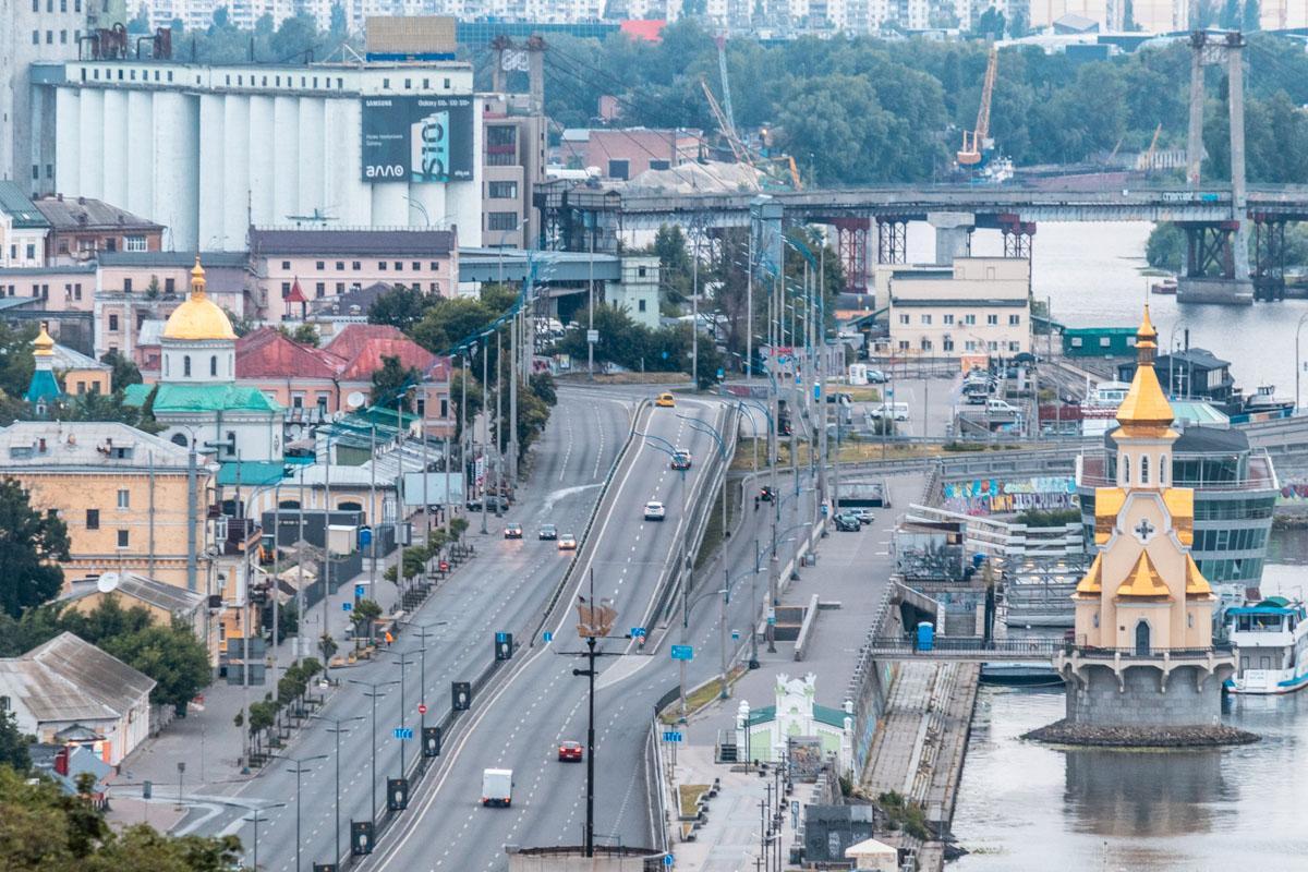Виды просыпающегося города неповторимы