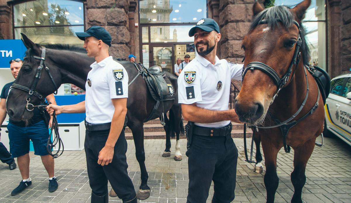 Ковбои Нацполиции Украины и их верные друзья