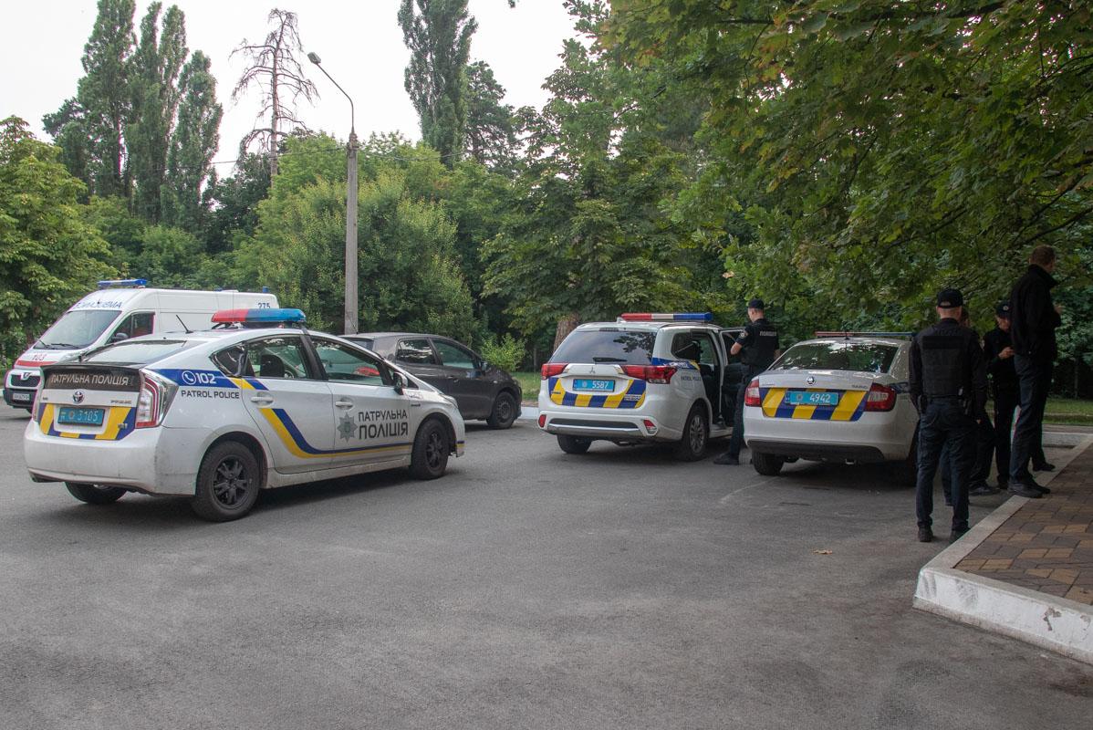 Подробности инцидента устанавливают правоохранители