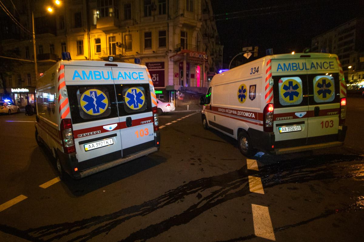 """На месте работал экипаж патрульной полиции, две""""скорых"""" и следственно-оперативная группа"""